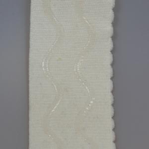 Velours elastiek met siliconen 50 4001