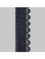 Velours elastiek 50 1002-Ebony Gray 19 4104