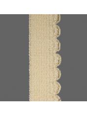 Velours elastiek 50 1005-Lambs Wool Yellow 12 0910