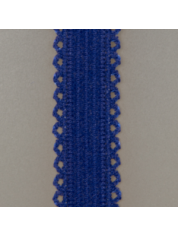 picot elastiek 51 0808-Deep Ultramarine Blue 19 3950