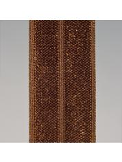 Rekbare ruches 97 1601-Hot Chocolate Brown 19 1325